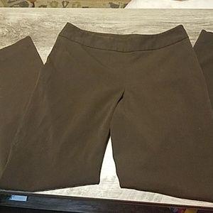 Rafaella Flat front pants